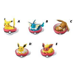 Pokémon Gashapon Teacup Time Mascot 5 (unit)