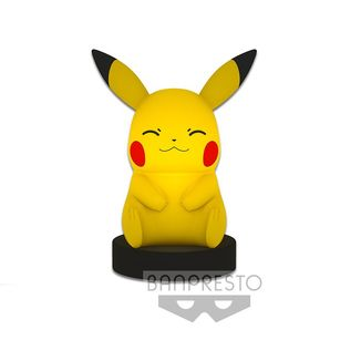 Pikachu light Pokemon Sun & Moon (Closed Eyes)