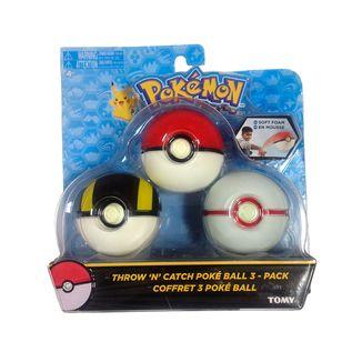 Set Bola Pokemon - Pokeball, Ultra Ball y Honor Ball