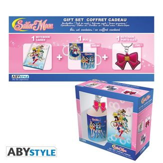 Sailor Moon Mug, Notebook and Keyring