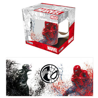 Taza Venom Vs Spiderman Marvel Comics
