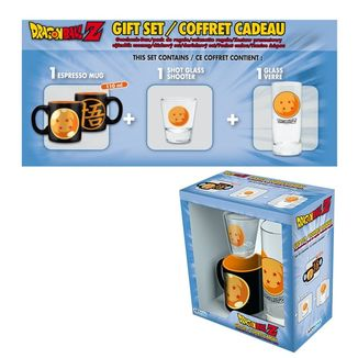 Dragon Ball Z Mug, Glass and Shot Glass