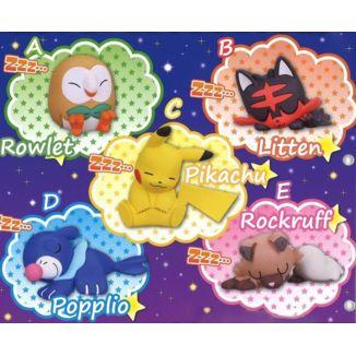 Pokemon Sun & Moon Figure - Oyasumi Friends