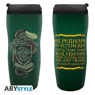 Vaso de Viaje Slytherin Harry Potter