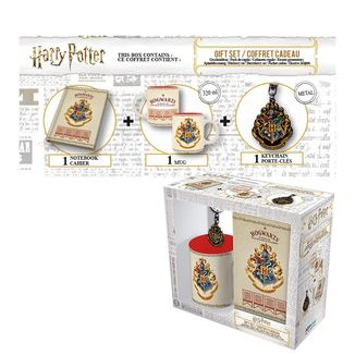 Hogwarts Mug, Notebook and Keyring Harry Potter