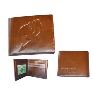 Logo Leather Wallet Fairy Tail