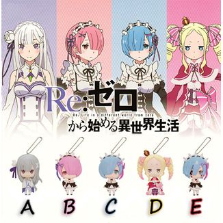 Re:Zero Gashapon