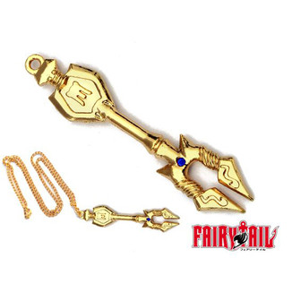 Colgante Fairy Tail - Llave Escorpio 7cm