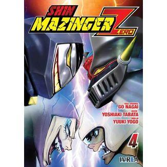 Shin Mazinger Zero #04 Manga Oficial Ivrea