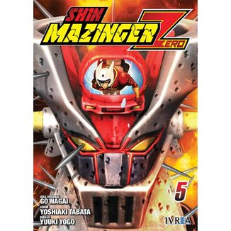 Shin Mazinger Zero #05 Manga Ivrea