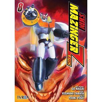 Shin Mazinger Zero #08 Manga Oficial Ivrea