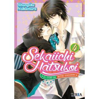 Sekaiichi Hatsukoi: el caso de Ritsu Onodera #04 Manga Oficial Ivrea