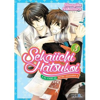 Sekaiichi Hatsukoi: el caso de Ritsu Onodera #03 Manga Oficial Ivrea