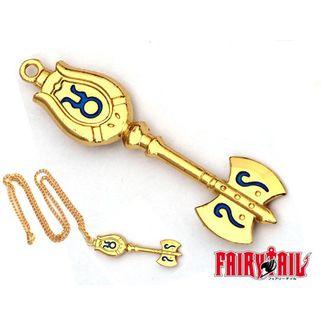 Colgante Fairy Tail - Llave Tauro 7cm