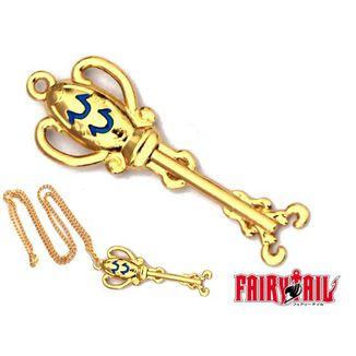 Colgante Fairy Tail - Llave Aquario 7cm