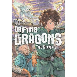 Drifting Dragons #05 (spanish) Manga Oficial Milky Way Ediciones