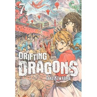 Drifting Dragons #07 (spanish) Manga Oficial Milky Way Ediciones