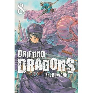 Drifting Dragons #08 Manga Oficial Milky Way Ediciones