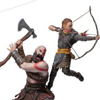 Estatua Kratos & Atreus God of War BDS Art Scale