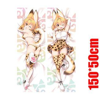 Dakimakura Kemono Friends - Serval (150x50cm)