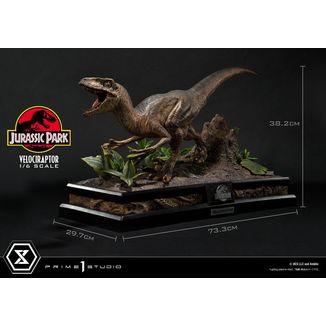 Estatua Velociraptor Attack Jurassic Park Legacy Museum Collection