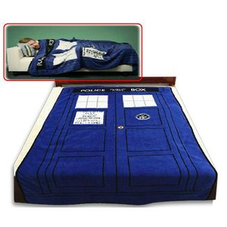 Manta Doctor Who - Police Box