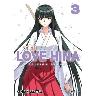 Love Hina Edición Deluxe #03 Manga Oficial Ivrea