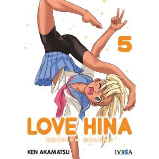 Love Hina Edición Deluxe #05 Manga Oficial Ivrea