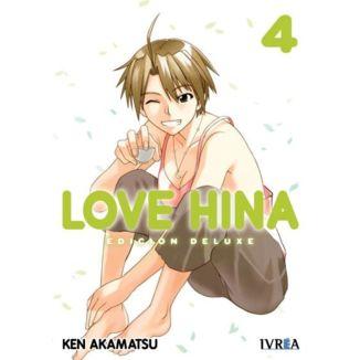 Love Hina Edición Deluxe #04 Manga Oficial Ivrea