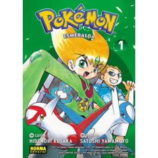 Pokemon Esmeralda #01 Manga Oficial Norma Editorial