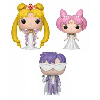Funko Serenity, Small Lady & Endymion Pack Sailor Moon POP!