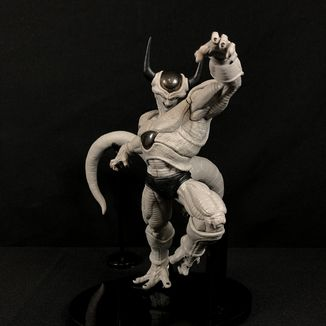 Freezer 2nd Form Monochrome Ver. Figure Dragon Ball World Figure Colosseum 2018