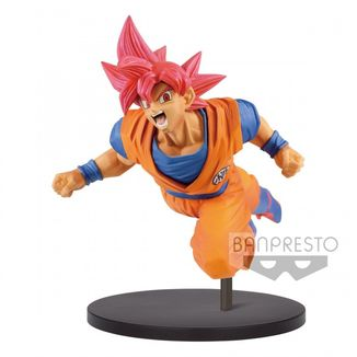 Goku SSG Figure Dragon Ball Super Goku Fes Vol 9