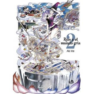 Ran y el Mundo Gris #02 Manga Oficial Tomodomo