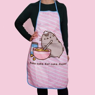 Pusheen Apron Make Cake, Eat Cake, Repeat