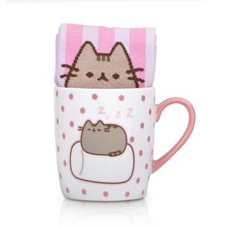 Taza y Calcetines Pusheen Marshmallow Set