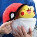 Peluche Pokéball y Pikachu Pokémon 20cms
