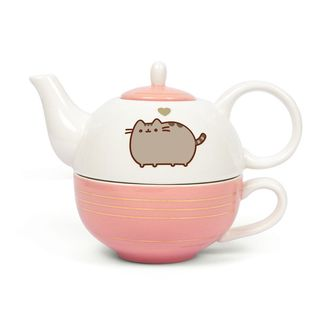 Pusheen Teapot and Mug