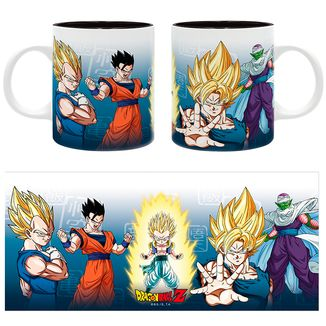 Taza Saiyans & Piccolo Dragon Ball Z