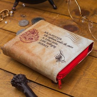 Cartera Hogwarts Carta Harry Potter