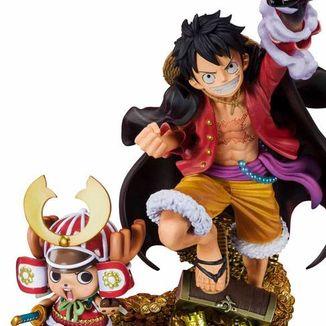 Monkey D Luffy & Chopper World Top 100 Figuarts Zero Memorial One Piece