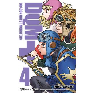 Dragon Quest Monsters #04 Manga Oficial Planeta Comic