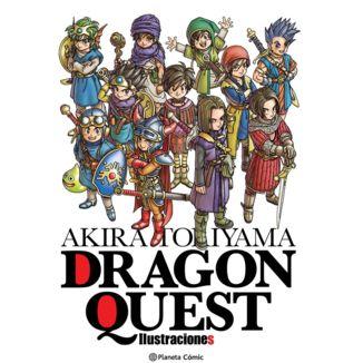 Akira Toriyama Dragon Quest Ilustraciones Manga Oficial Planeta Comic