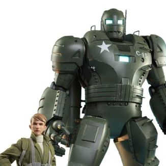 Steve Rogers & The Hydra Stomper Figure What If Marvel Comics Hot Toys