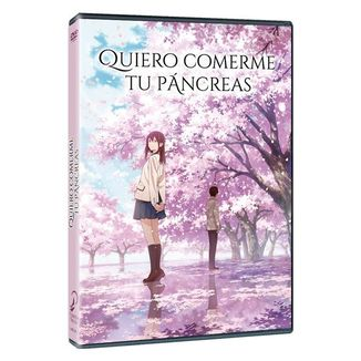 DVD Quiero Comerme Tu Páncreas