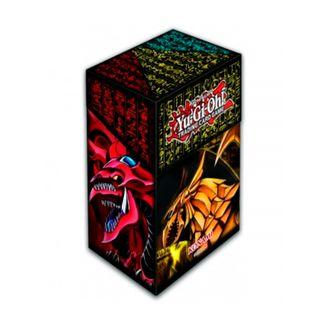 TCG Caja de Mazo Slifer Obelisk & Ra Yu Gi Oh Card Case
