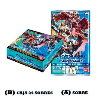 DIGIMON CARD GAME TCG Release Special Booster Ver.1.5 English