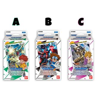 DIGIMON CARD GAME TCG Starter Decks Vol 2