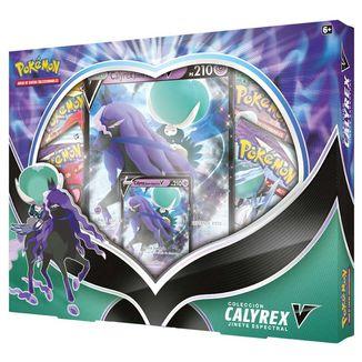 TCG Pokemon CARD GAME Coleccion Calyrex Jinete Espectral V Box (Spanish)