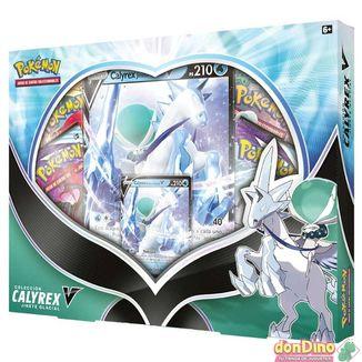 TCG Pokemon CARD GAME Coleccion Calyrex Jinete Glacial V Box (Spanish)